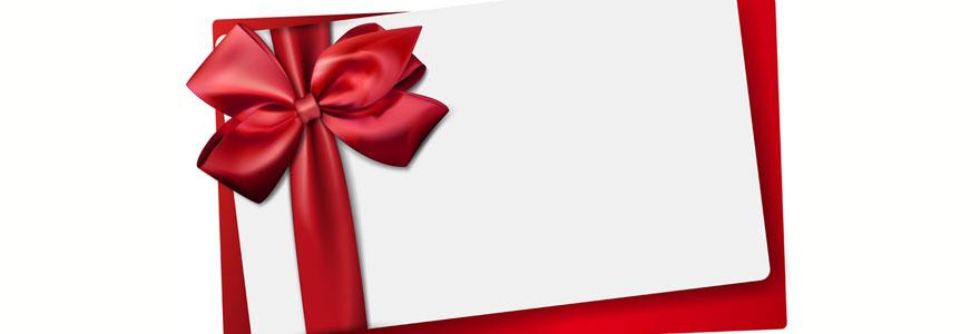 Carte cadeau multi-enseignes