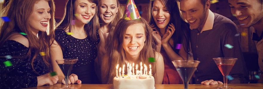 Fête d'anniversaire originale