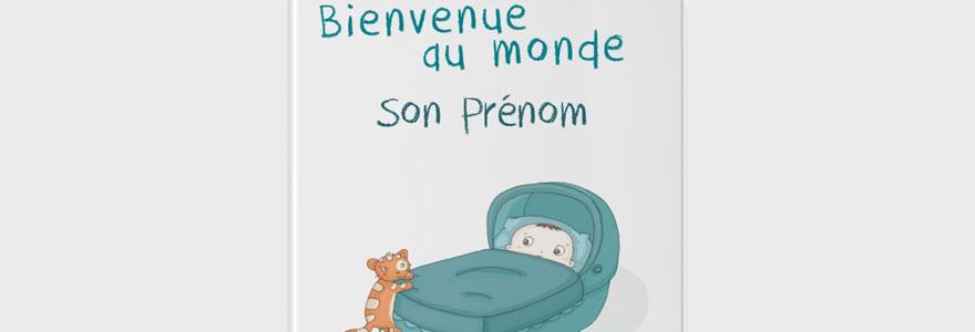 livre personnalisé pour bébé